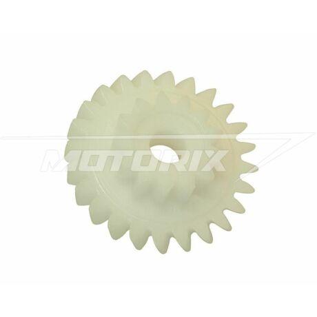 Vízpumpa, olajpumpa fogaskerék Minarelli AM (13/24 fogas) OEM - gyári