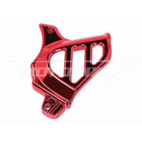 Első lánckerék védő burkolat piros Minarelli AM 101-Octane