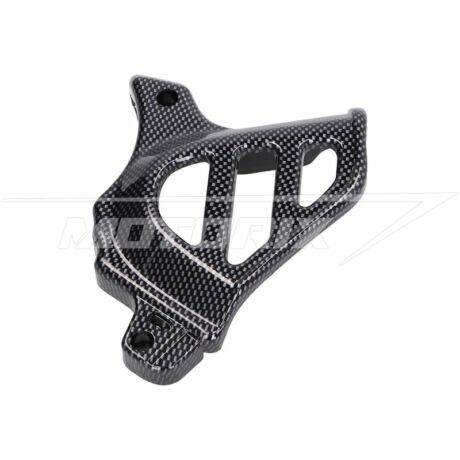 Első lánckerék védő burkolat fekete karbon Minarelli AM 101-Octane
