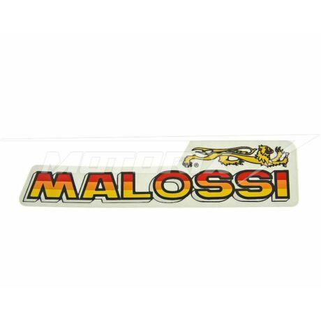 Matrica 87x21mm Malossi