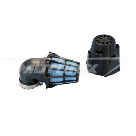 Levegőszűrő 32mm - 90°, védőházas Polini Racing
