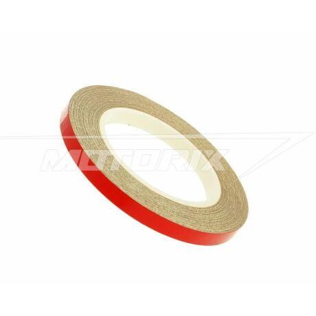 Felnicsík 5mm x 600 cm piros