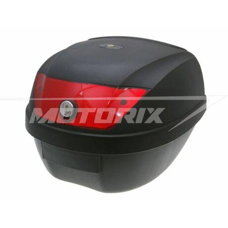 Tároló doboz hátsó fekete-piros 28L 101-Octane