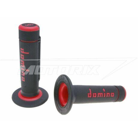 Markolat pár fekete-piros off-road Domino A020