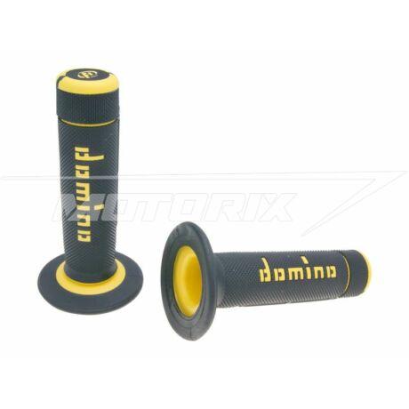 Markolat pár fekete-sárga off-road Domino A020