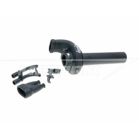 Gyorsgázkar szett 2.6°/ 45mm off-road fekete univerzális Domino KRE 03
