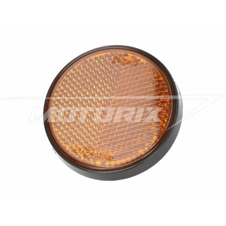 Fényvisszaverő prizma kerek 55mm narancssárga (csavarozható) 101-Octane