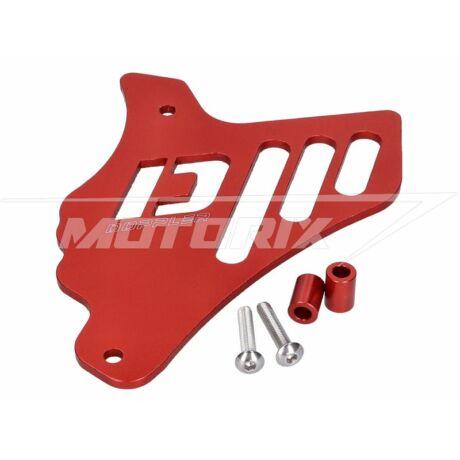 Első lánckerék védő burkolat piros Minarelli AM, Generic, Keeway Doppler
