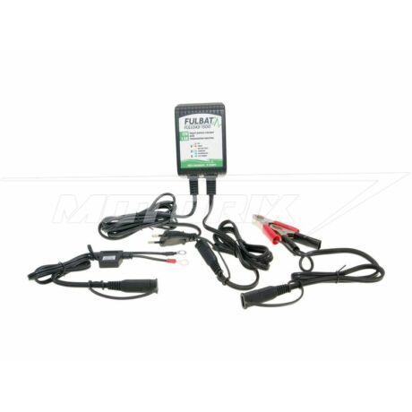 Akkumulátor töltő 12V ólom alapú, MF, GÉL, 4-120Ah Fulbat Fulload FL1500