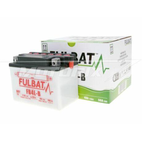 Akkumulátor 12V 4Ah (FB4L-B) (savval együtt)Fulbat