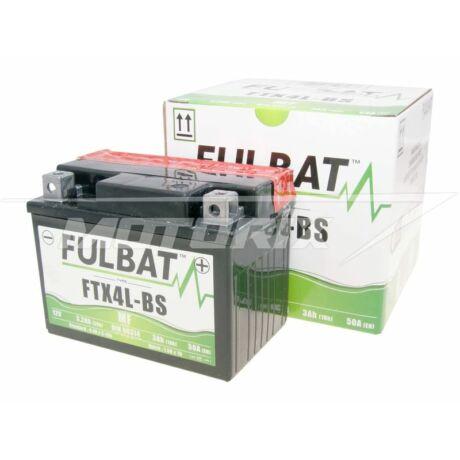 Akkumulátor 12V 3Ah (FTX4L-BS) gondozásmentes Fulbat