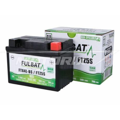 Akkumulátor 12V 5Ah (FTX4L-BS / FTZ5S) GÉL (SLA) Fulbat