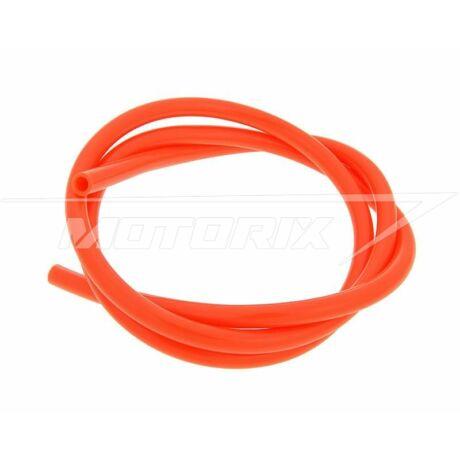 Benzincső 5mm narancssárga (1m) 101-Octane