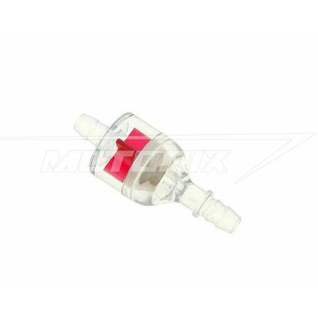 Benzinszűrő Fast Flow II - piros D7 101-Octane