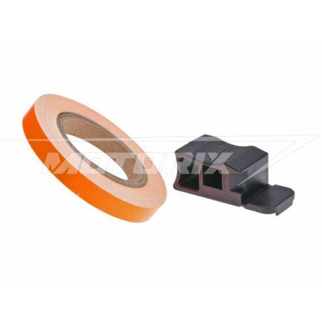 Felnicsík 7mm x 600cm neon narancs 101-Octane