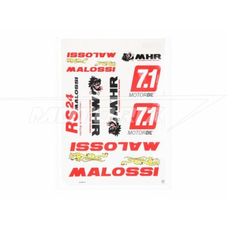 Matrica szett A3-as Malossi