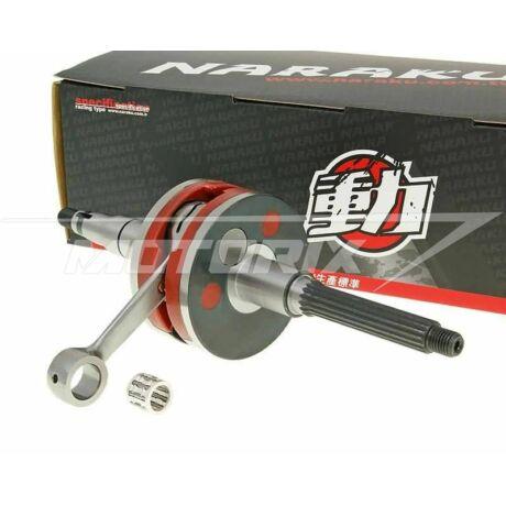 Főtengely Minarelli fekvő (10mm) Naraku Racing HPC