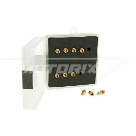 Alapjárati fúvóka szett 30-50 M5 Dellorto PHBG - PHBD (10 db-os) Naraku