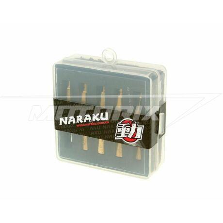 Főfúvóka szett 120-138 PWK (10 db-os) Naraku