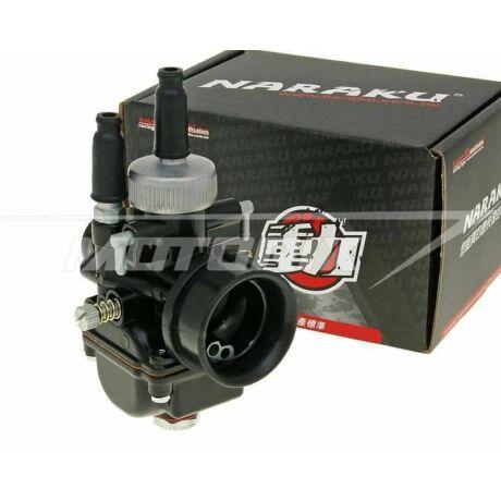Karburátor 17,5mm (kézi, bowdenes szívatós) Black Edition Naraku