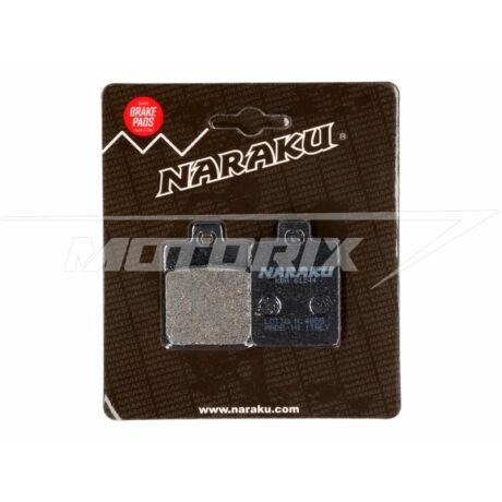 Fékbetét pár Gilera - Piaggio - Vespa organikus Naraku