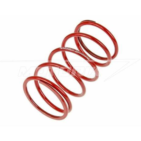 Kontrasztrugó Minarelli fekvő (+2000 rpm - piros - 4,3 mm) Naraku