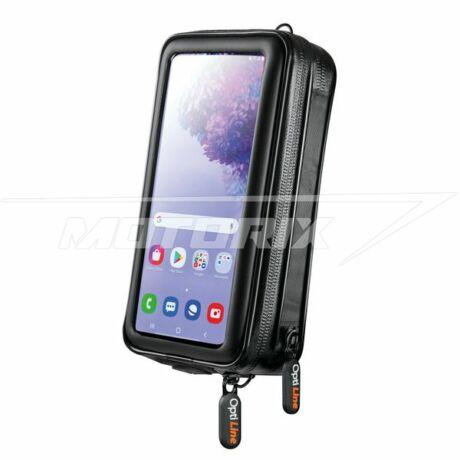 Mobiltelefon tok 85x170 mm (pénztárcával) univerzális Lampa Accessiores