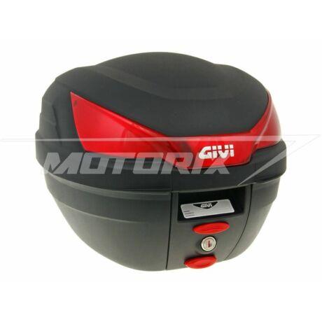 Tároló doboz hátsó fekete-piros 27L GiVi