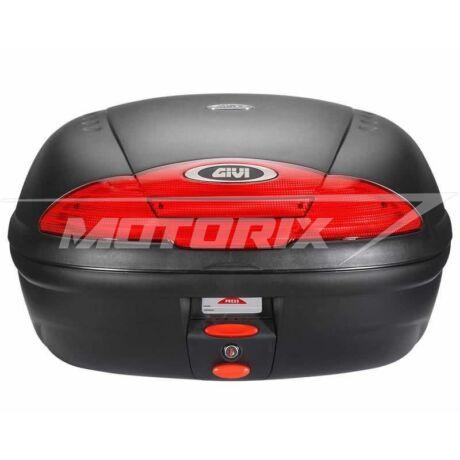Tároló doboz hátsó fekete-piros 45L GiVi E450