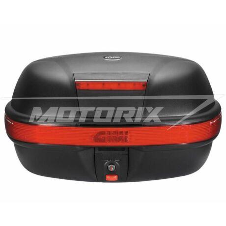Tároló doboz hátsó fekete-piros 46L GiVi E460
