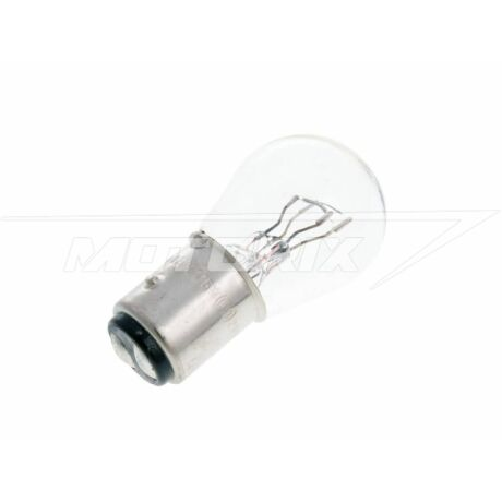 Izzó 12V 21 / 5W (BAY15D) fehér V-parts