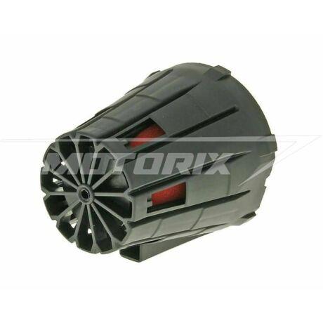 Levegőszűrő sport 39-45mm 45° fekete V-parts