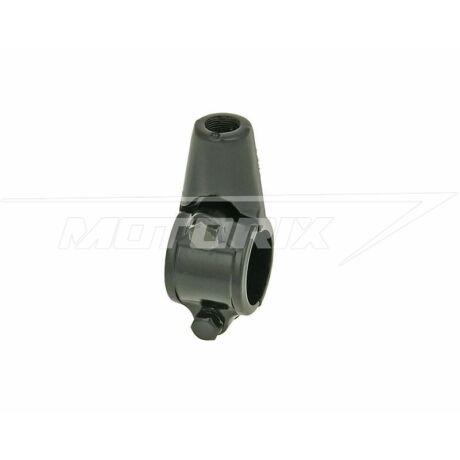 Kormányra szerelhető tükörtartó M10 balmenetes (22mm kormányhoz) V-Parts