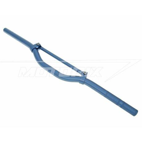Kormány alumínium keresztmerevítős kék 22mm V-parts