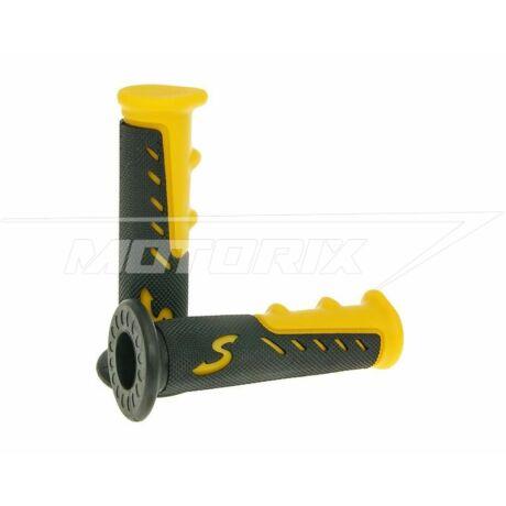 Markolat pár sárga-fekete sport V-Parts