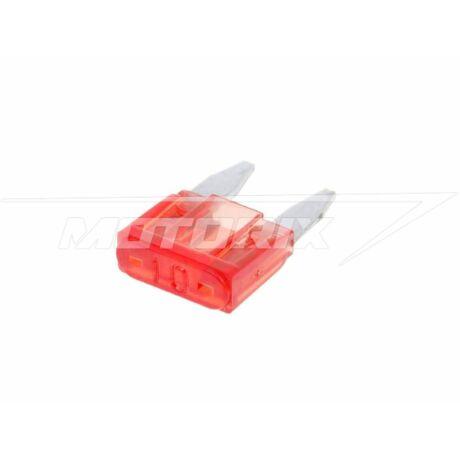 Biztosíték mini 11,1mm 10A villás V-parts