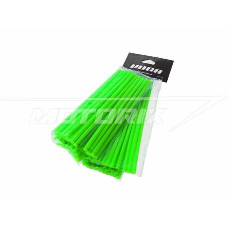 Küllő borítás 215mm (első) és 190mm (hátsó) 2x38db neon zöld VOCA Racing