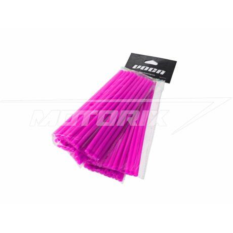 Küllő borítás 215mm (első) és 190mm (hátsó) 2x38db rózsaszín VOCA Racing